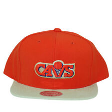 Cleveland Cavaliers Mitchell and Ness NBA Snapback Hat Corduroy 2 Tone