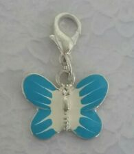 ~ Enamel Butterfly ~ CLIP ON CHARMS ~ 10 Colour Choices ~