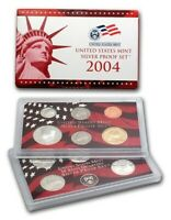 2004 Silver Proof US Mint Coin Set - 11 Coins