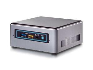 Intel Nuc Mini PC - Intel NUC7CJYH bis 2,7GHz - 120GB SSD - 4GB DDR4 - Win10Pro
