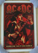 Acdc concert gig tour poster print Columbus 11-21-08 2008 Ac/Dc Ken Taylor