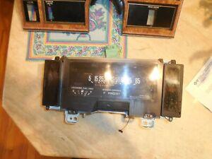 84 85 86 87 Buick Regal Dash Instrument Cluster, Bezel,&Blue Pad