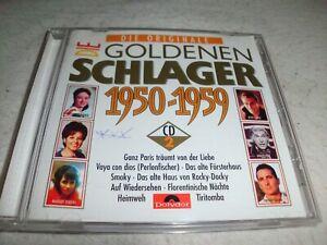 Die Goldenen Schlager 1950-1959 - CD Nr. 2 - CD gebraucht  gut