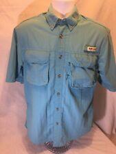 Magellan Sportswear Fishing Camping Button Up Shirt Size Small. (E)