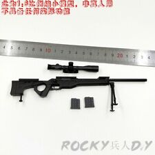 Sniper Rifle for Flagset Fs 73024 China S.W.A.T Shandian Commandos 1/6 Scale
