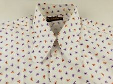 KL983 ITALSHIRT vintage crazy design hipster shirt size fits XL, as unused!