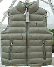 Ralph Lauren Ladies Down Filled Size S Grey Gilet / Body Warmer BNWT