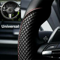 Microfiber Leather Auto Car Steering Wheel Cover Anti-slip 38cm/15'' Easy