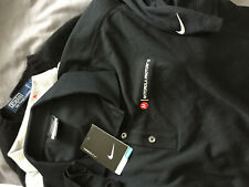 Nike dri fit golf polo Motorola Photon  black   shirt adult men's Large NWT NEW
