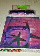 "Diamond Art Kit Diy Full Drill Round 30X30 Cm "" Starfish In A Glass "" Beach"