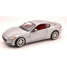 Maserati Granturismo 2007 Silver 1 24 Burago Auto Stradali Die cast Modellino
