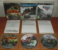 Need for Speed Collection Vol. 3 (The Run, Most Wanted 2012, Rivals) Español PS3