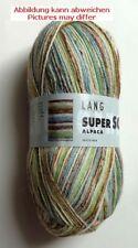 LANG Yarns Súper Soxx ALPACA 100g/400m fb.154