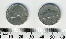 "USA 1941 -  5 Cents Jefferson Nickel Coin - ""Monticello"" - #1"