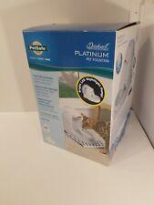 PetSafe PWW00-14583 - Drinkwell LED Platinum Water Fountain, 168 oz