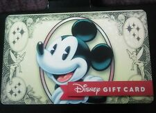 NEW 2016 Disney Dollar Gift Card Mickey Mouse Tinker Bell- No Value