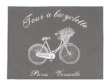 Platzdeckchen, Untersetzer, Tischset, grau, Bicyklette, Landhaus, modern