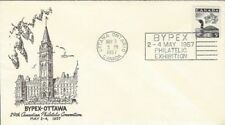 1957 BYPEX-Ottawa show cover with matching cachet and cancel