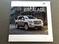 2019 Cadillac Escalade 36-page BIG Original Car Sales Brochure Catalog - ESV