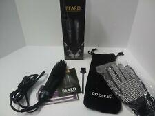 Coolkesi Ionic Beard Straightening Brush For Men Anti Scald Hair Straightener