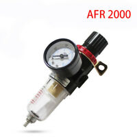 Mini Regolatore Riduttore di Pressione Filtro per Compressore Misuratore Aria