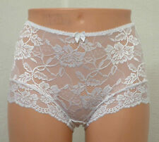 Charnos Rosalind Deep Lace Brief Knickers 116510 White * Lingerie 12