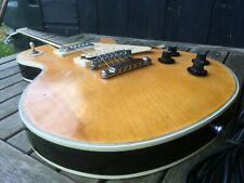 Vintage COLUMBUS Les Paul Blonde Jet Black JAPANESE Electric Guitar LAW SUIT 70s