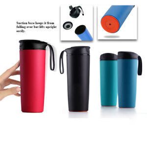MAGIC SUCTION MUG Big ✈ No knock spill Travel coffee cup for all Mighty Tasks