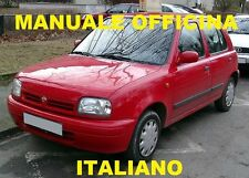 NISSAN MICRA 2° SERIE K11 ( 1992 / 2002) Manuale Officina ITALIANO SU CD