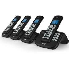 BT 4X Cordless Home Phone With Nuisance Call Blocking Answering Machine Quad Set
