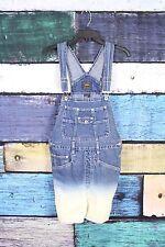 VTG 90s Grunge Ombre Dip Dye Shortalls Overalls Jeans Shorts MEDIUM M Route 66