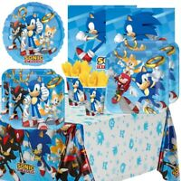 Sonic the Hedgehog Party Supplies Tableware, Decorations, Balloons