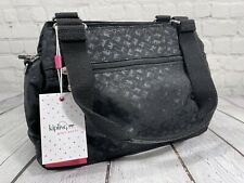 Kipling ORELIE Women's Handbag Shoulder Bag Black NEW w/Tags K1247998K Free Ship