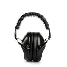 Kids Ear Muff Defenders Noise Reduction Black Comfort Earmuff Protection EM-5005