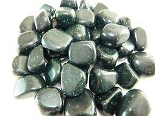 Tumbled Stones Polished Emerald Goldstone