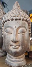 BUDDHA HEAD HOME OUTDOOR PATIO GARDEN STATUE ORNAMENT DECOR ~ 40cm ~  GIFT IDEA