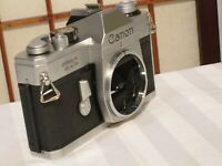 CANON TX 35mm SLR FILM CAMERA BODY ONLY FOR PARTS/REPAIR