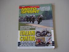 MOTOSPRINT 24/1992 GAS GAS CONTACT 32/DUCATI 350 SPORT/HONDA RAIDEN 125