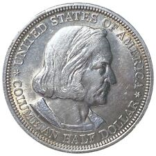 1893 Columbian Expo Half Dollar, Very Nice Toning 50c Collectible Coin No Res!