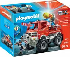 Playmobil pompiers camion