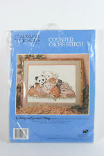 Candamar Designs Counted Cross Stitch Endangered Species Collage 50766