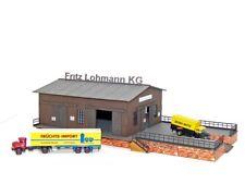 Lemkecollection Spur N H 5029 Lasercut Bausatz Speditions Schuppen inkl. 2x MB L