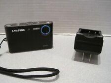 Samsung NV3 7.2 MP Digital Camera - Black + 1GB