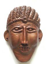 ETHIOPIE : Masque en terre cuite « Mursi » TBE