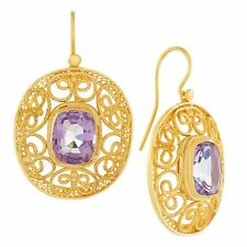 May Morris Amethyst Earrings: Museum of Jewelry