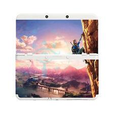 Personnalisé imprimé zelda botw climb new nintendo 3DS plastron des plaques