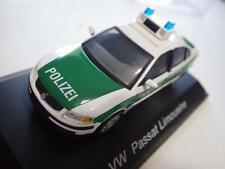 Schuco (China) Green/White Volkswagen Passat Limousine Polizei Diecast 1:43 NIB