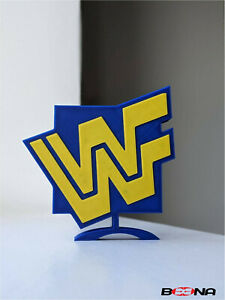 Decorative WWF self standing logo display (1994-1997)