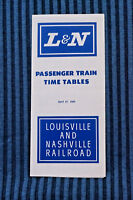 Louisville & Nashville - Time Table - April 27, 1969