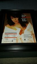 Janet Jackson Come Back To Me Rare Original Promo Poster Ad Framed!
